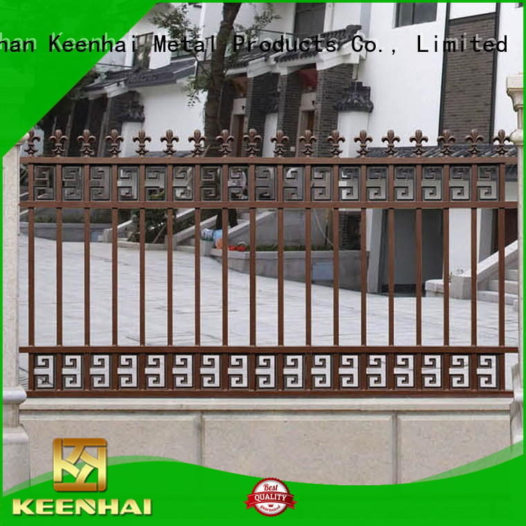 Keenhai high quality aluminum fence from China for decoration
