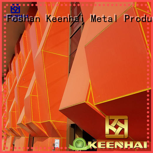 Keenhai professional hollow out wall cladding provider for exterior decoration