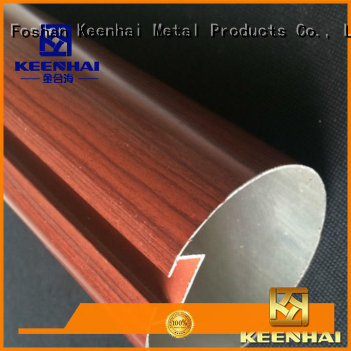 Keenhai baffle stainless steel pipe get quotes for decoration