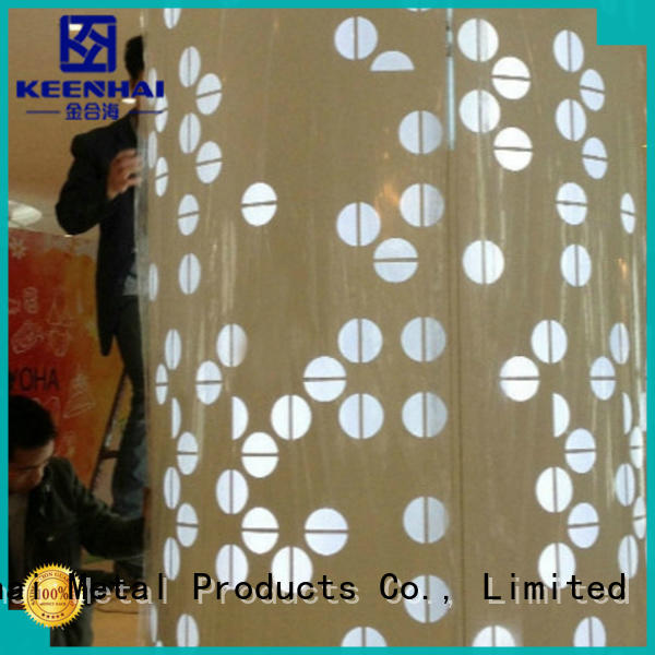 exquisite metal column cladding cut provider for indoor decoration