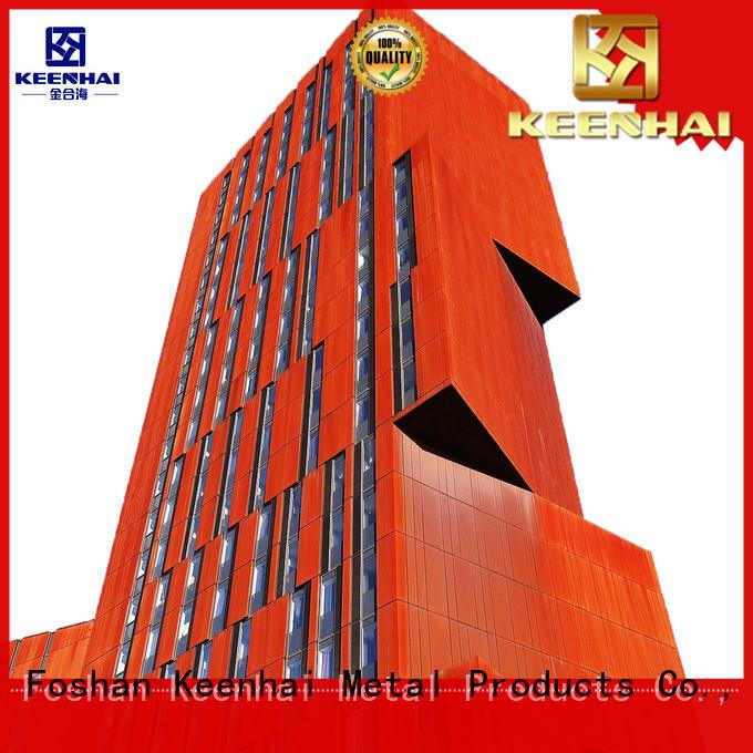 standardized corten steel sheet from China for decoration Keenhai