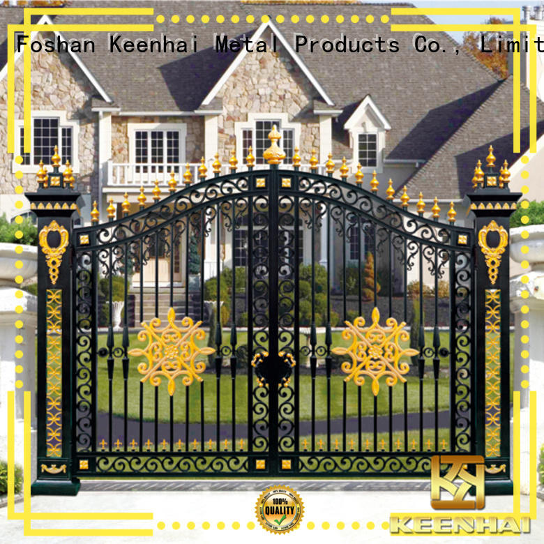 Keenhai stylish driveway gates for sale coating for decoration