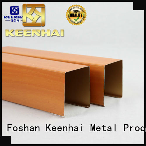 Keenhai shape metal ceiling sheets manufacturer for decoration
