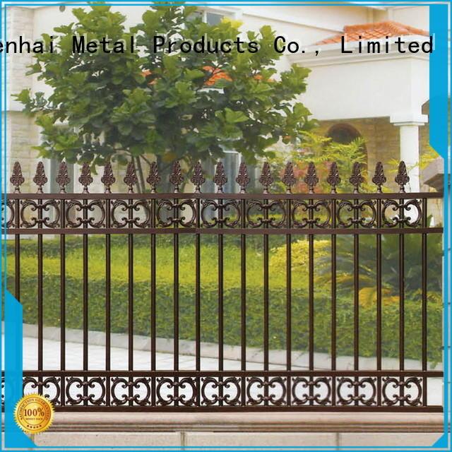 cheap temporary garden fencing customized supplier for hotel