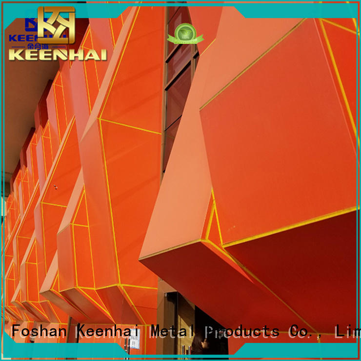 Keenhai Foshan external wall cladding made in China for building facades