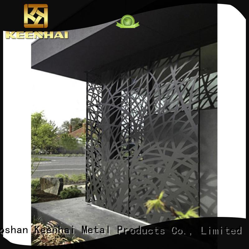 Keenhai outdoor outdoor Metal Screen trader for decoration