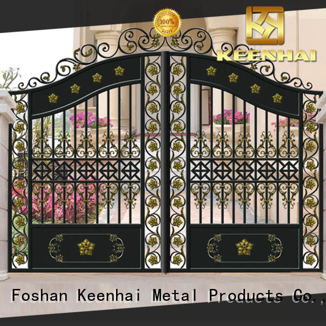 Keenhai gate front garden gates factory for decoration