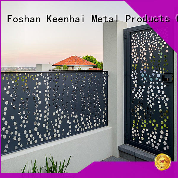 cheap aluminum fence laser supplier for garden