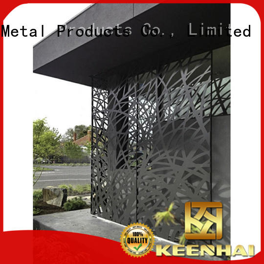 aluminum metal garden screens metal for room Keenhai