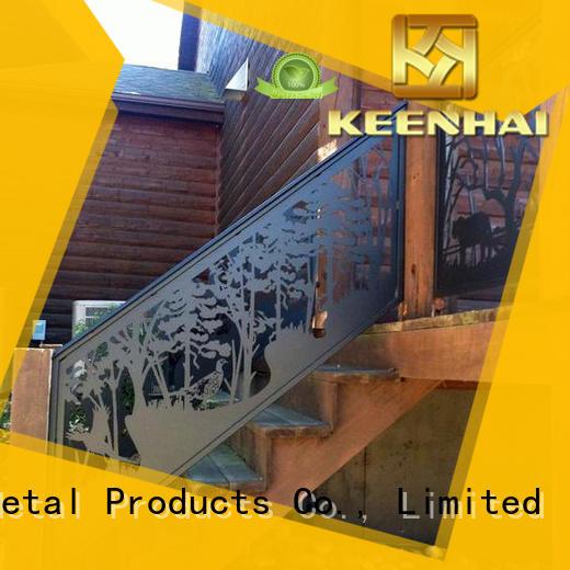 Aluminum Decorative Metal Screen With CNC Cuting