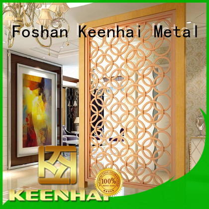 Keenhai metal decorative screen panel factory for garden
