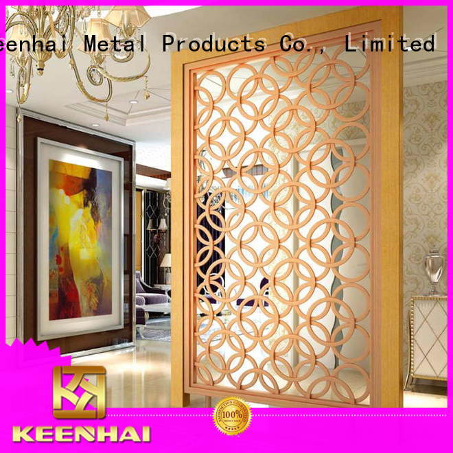 Keenhai antique antique metal screen renovation solutions for garden