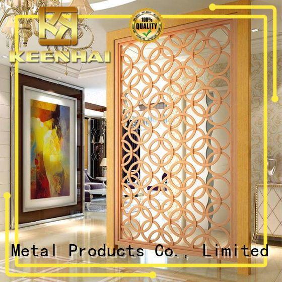 Keenhai golden mesh screen renovation solutions for garden