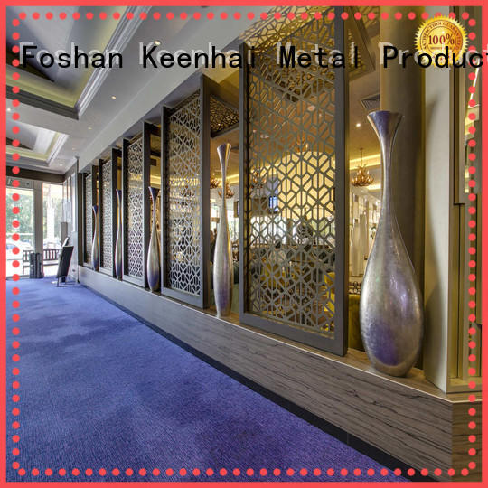 exquisite craft metal partition wall stainless custom-made Service for decoration