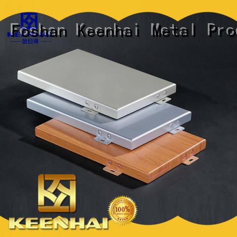 Keenhai exterior aluminium wall cladding factory for interior applications