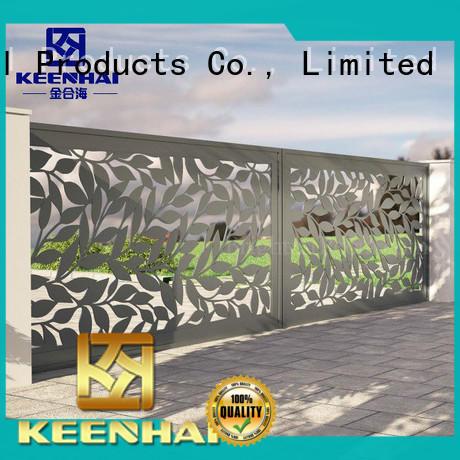 Keenhai cheap garden fencing supplies courtyard for public square