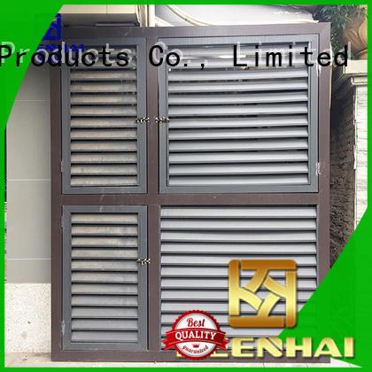 Keenhai ventilation aluminum gable vents solution provider for decoration