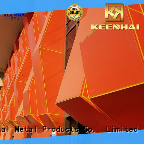 Keenhai decorative external wall cladding supplier for building facades