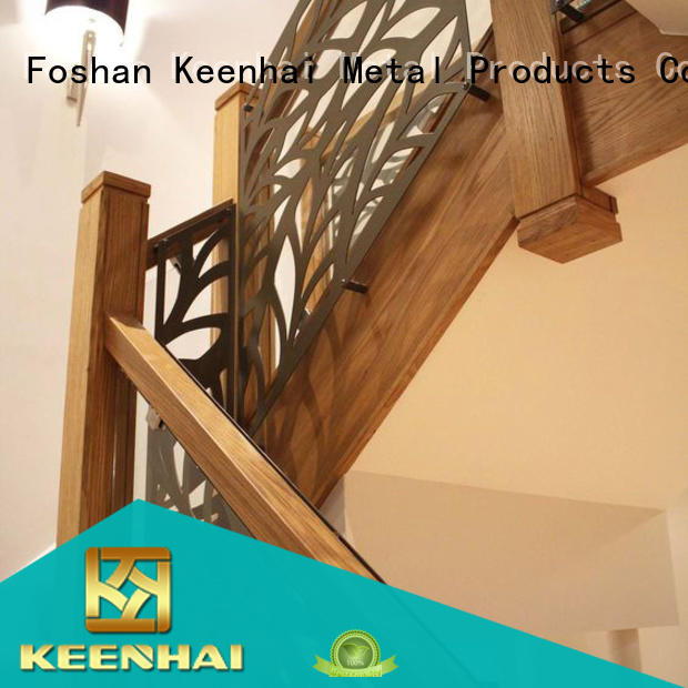 Keenhai high quality indoor screens partitions manufacturer for stairway