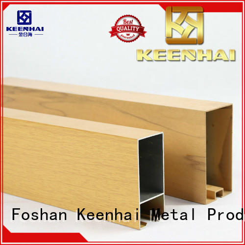 Keenhai intergrated tubular ceiling supplier for decoration