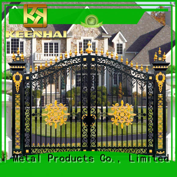 Keenhai powder metal gates renovation solutions for garden