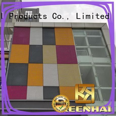 wall Corten steel cladding laser for resort Keenhai