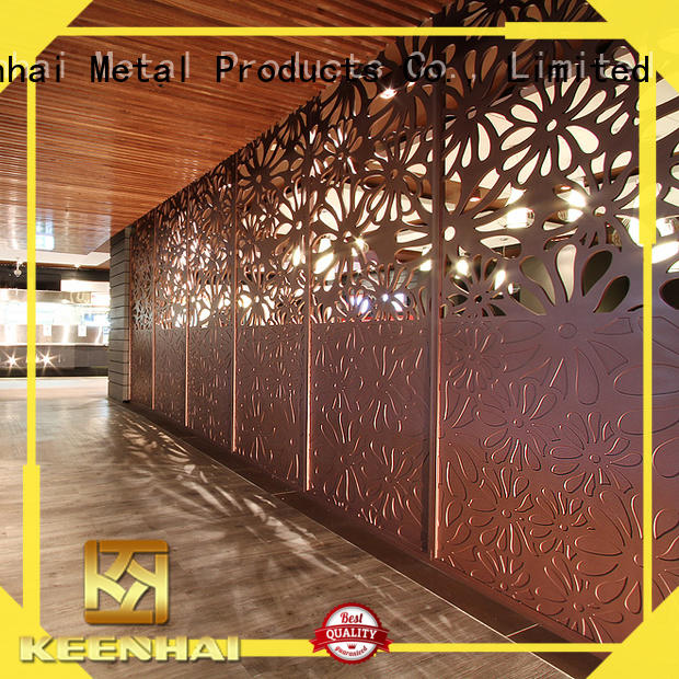 Keenhai stylish decorative screens factory for decoration