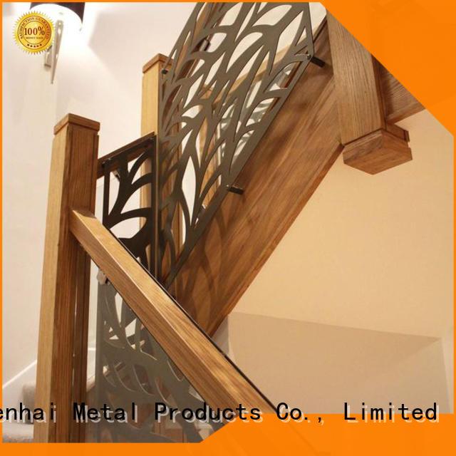 Keenhai cheap metal screen partition for staircase