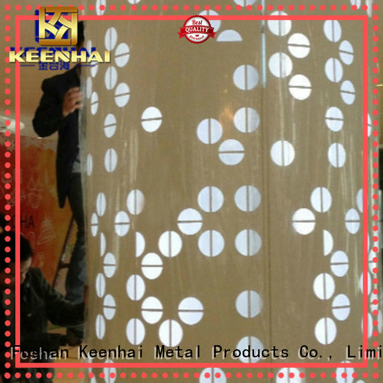 Keenhai column external wall cladding from China for interior decoration