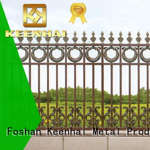 Keenhai cheap garden fence supplier for villa