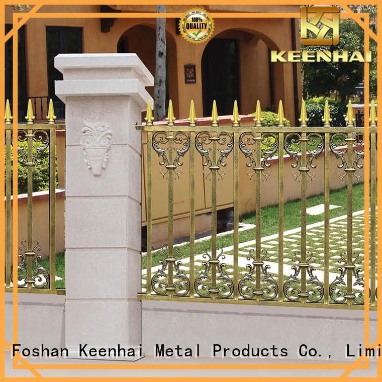 Keenhai cheap garden fence panels from China for villa