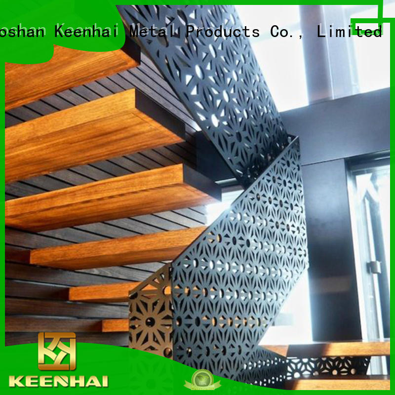 Laser Cut Metal Screen For Handrail Partition