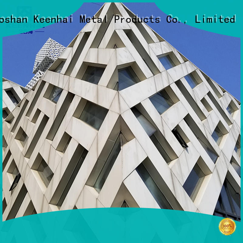 Keenhai professional hollow out wall cladding made in China
