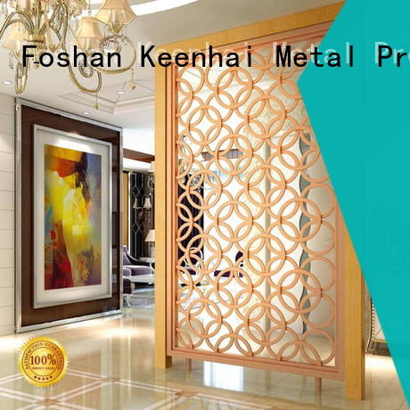 Keenhai customized decorative screen panel supplier for decoration