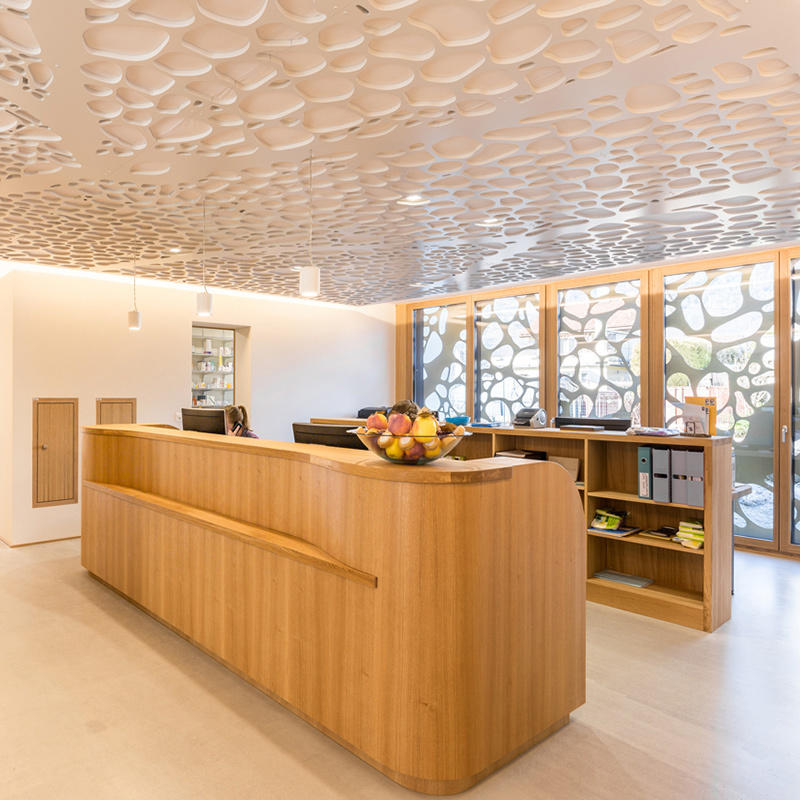Laser Cutting Metal Ceiling Decoration Perforated ceiling