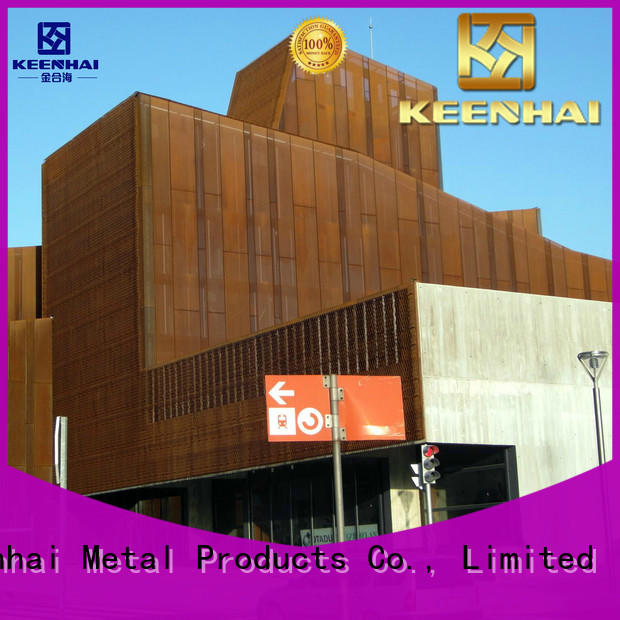Keenhai wall corten steel panels from China for decoration
