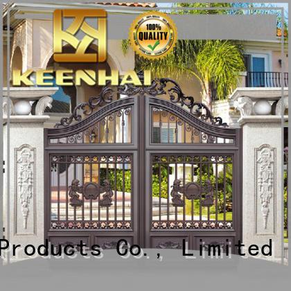 customized decorative garden gates supplier for garden Keenhai
