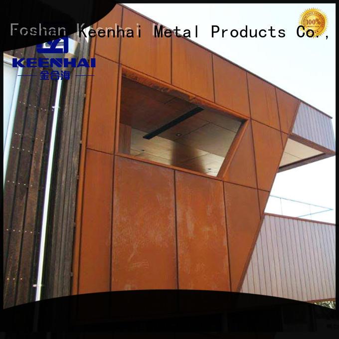 delicate corten steel panels house provider for decoration