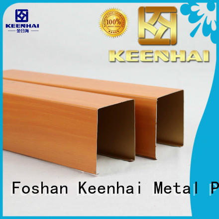 Keenhai interior metal ceiling metal manufacturer for hotel