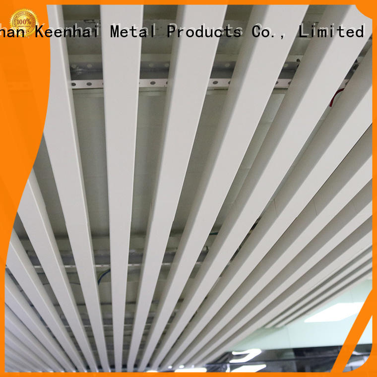 fashion strip metal ceiling metal fast shipping for decoration