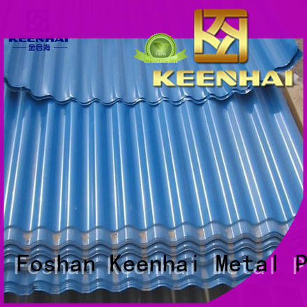 Keenhai corrugted corrugated metal panels design for decoration