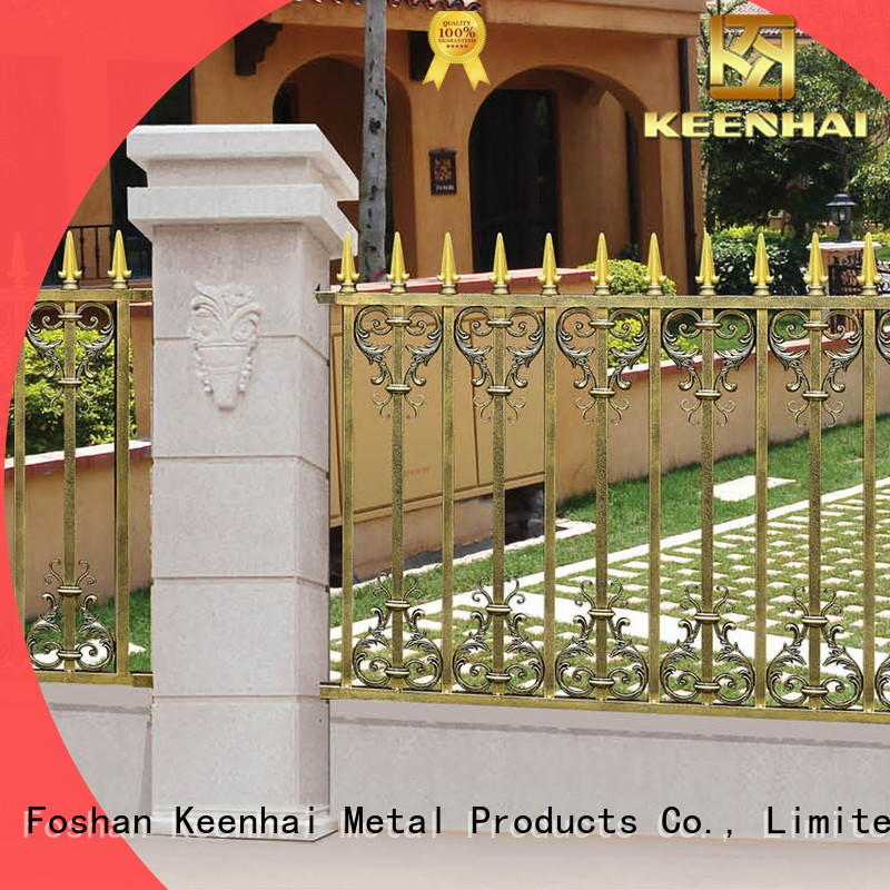 metal fence materials for decoration Keenhai