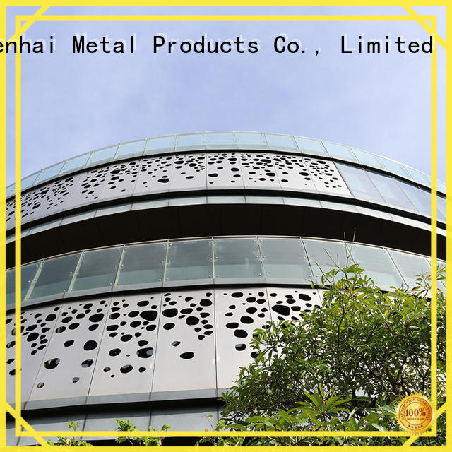 Keenhai coated perforated metal panels order now for architectural projects