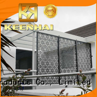 hollow outdoor Metal Screen fence for office Keenhai