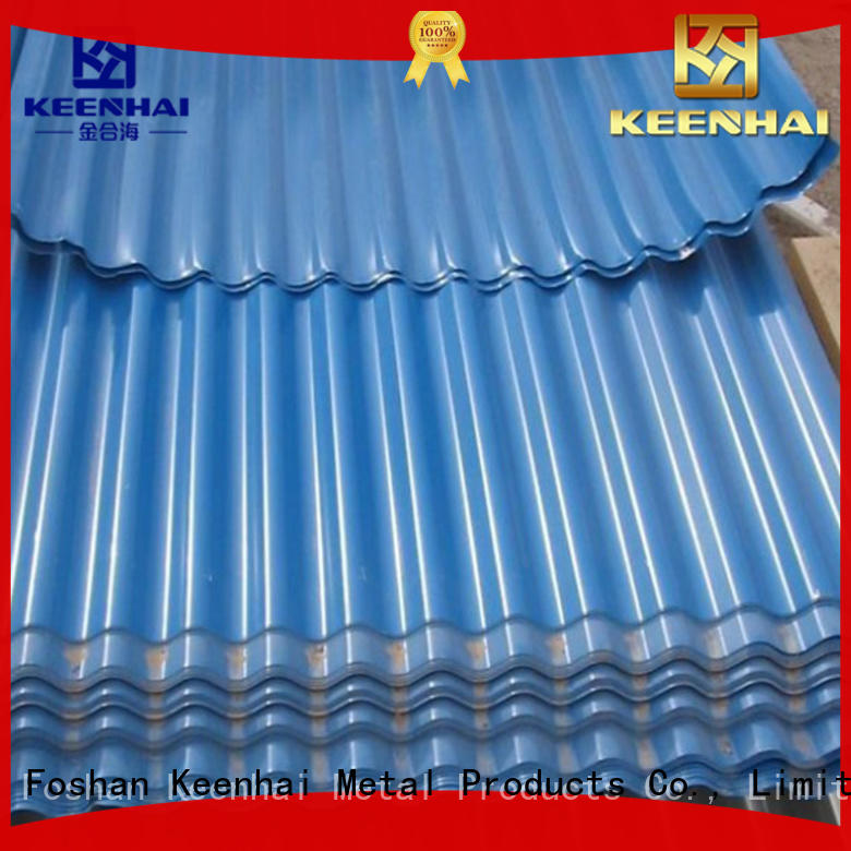 panel corrugated roof sheets metal for decoration Keenhai