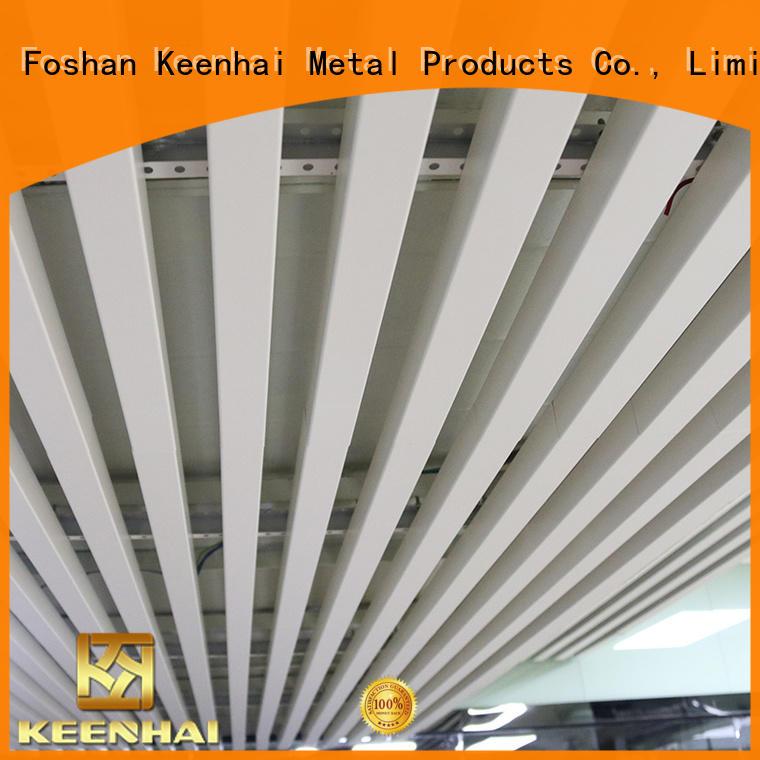 Keenhai grain interior metal ceiling order now for hotel