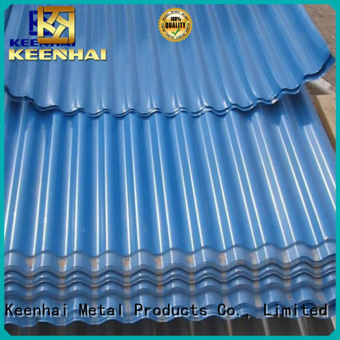metal corrugated wall panels for decoration Keenhai