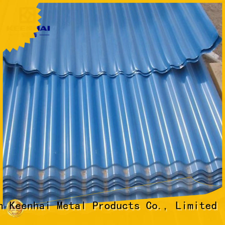 Keenhai corrugted corrugated metal panels design for garden design