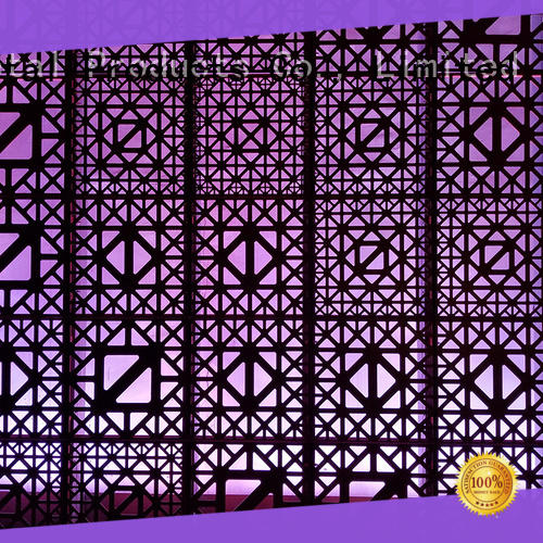 high-end perforated metal panels cutting manufacturer for architectural projects