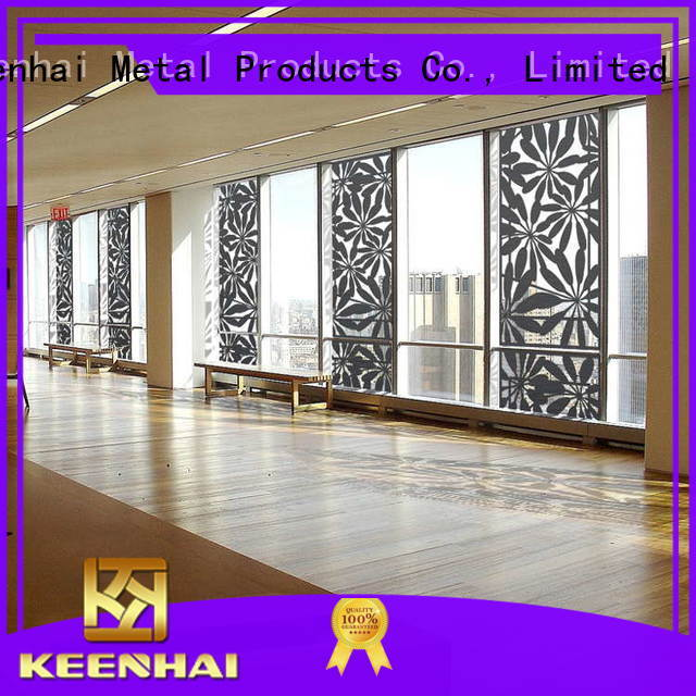 Keenhai screen antique metal screen renovation solutions for garden